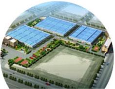 华锦游乐设备公司15000平方米生产基地