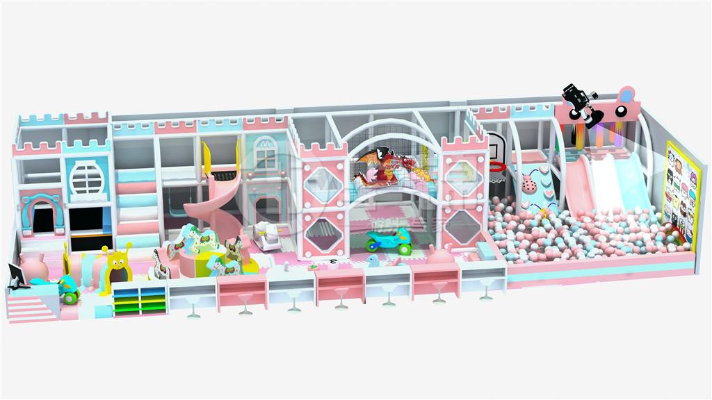 淘气堡马卡龙儿童乐园系列效果图