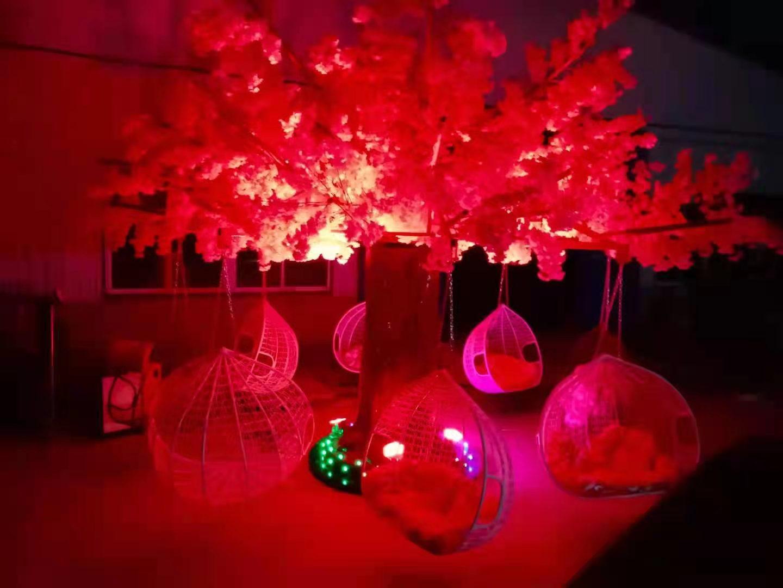 景区广场商场咖啡馆休闲项目,选择网红旋转秋千树,人气网红打卡地(图2)