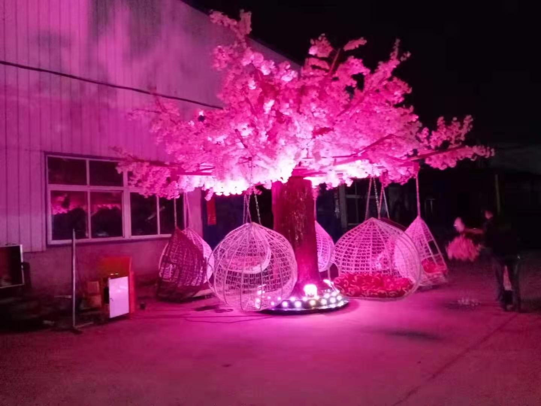 景区广场商场咖啡馆休闲项目,选择网红旋转秋千树,人气网红打卡地(图1)